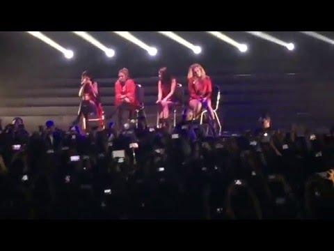 """Medley (Camila canta """"Mientes"""") - Fifth Harmony Live (México City) 25-11-15"""