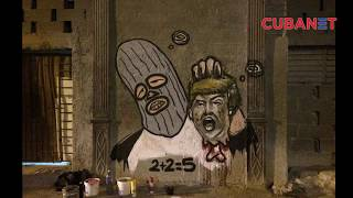 Donald Trump es decapitado en la Habana