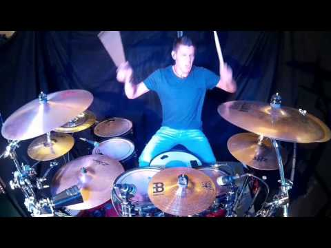 Halestorm - Bad Romance - Drum Cover By SDRUMS
