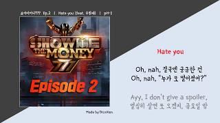 Hate You (Feat. ) (Prod. ) Lyrics 777 Episode 2