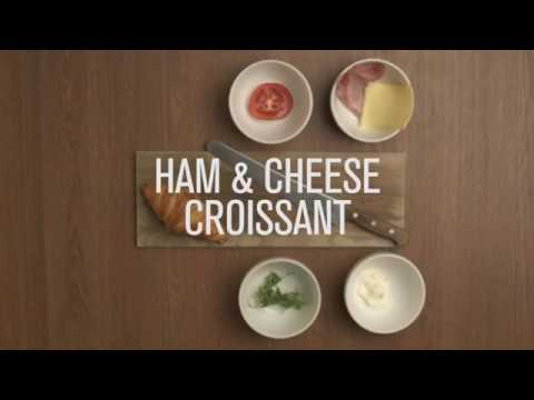 Made in store - Ham & Cheese croissant