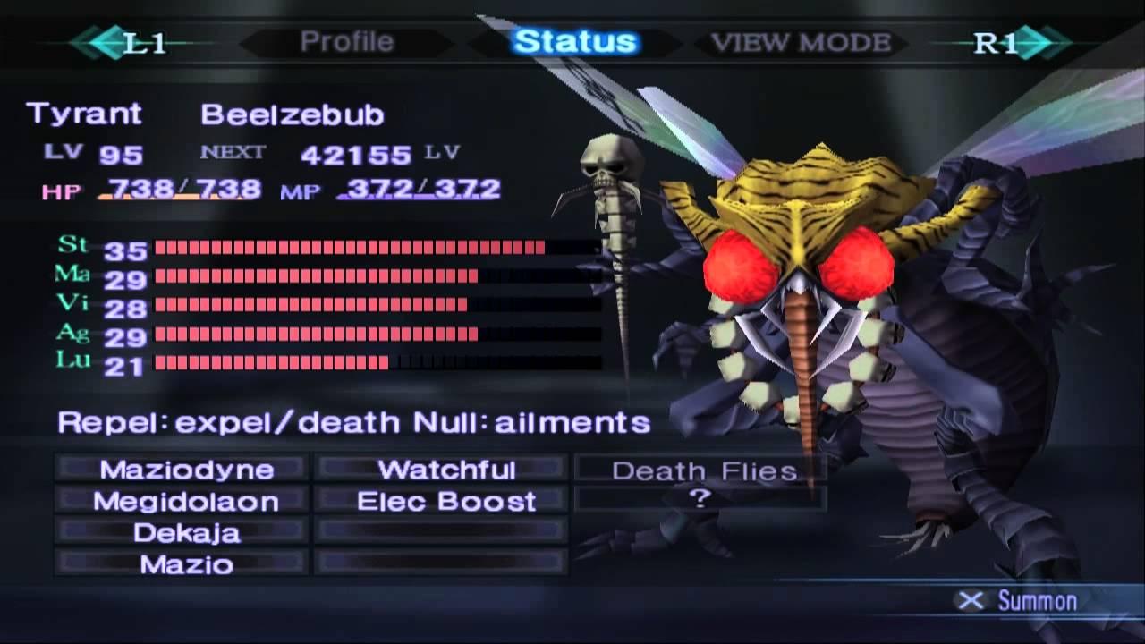 shin megami tensei nocturne strategy guide