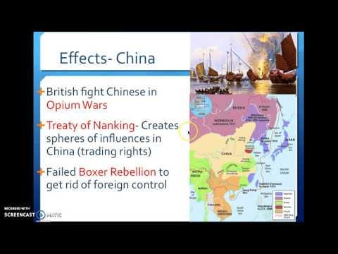 Regents Review- Imperialism