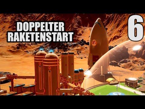 Surviving Mars Deutsch #6 Doppelter Raketenstart | Let's Play Surviving Mars Gameplay German