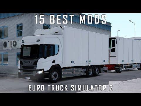 Top 15 Mods for Euro Truck Simulator 2 1 34 - February 2019