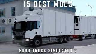 Top 15 Mods for Euro Truck Simulator 2 1.34 - February 2019 - Realistic ETS2