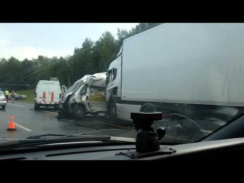 Авария на симферопольском шоссе 24.07.2014