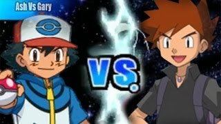 Pokemon Black and White 2 Wifi Battle - Ash Vs Gary