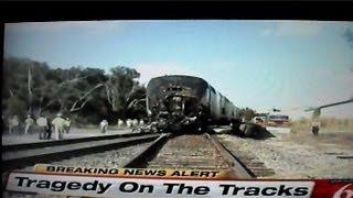 Amtrak Train Silver Star Crashes Into Dump Truck