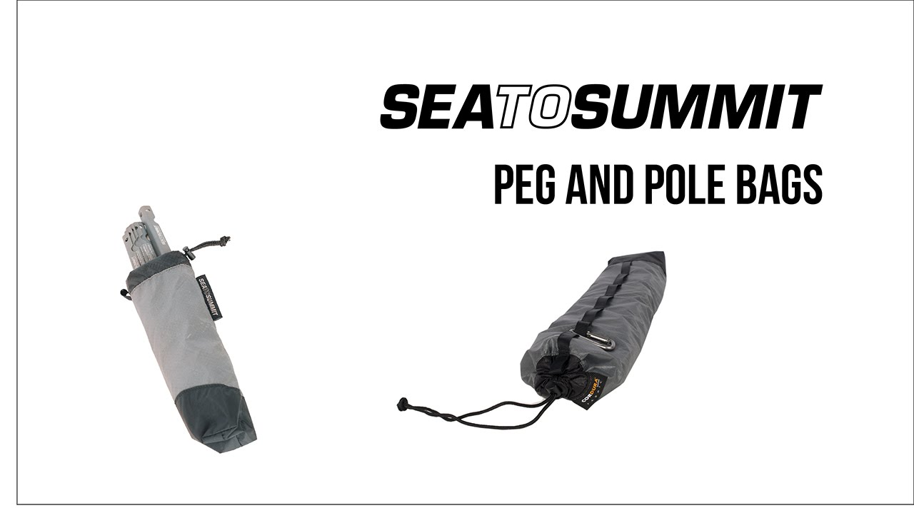 Sea to Summit Peg and Pole Bag  sc 1 st  YouTube & Sea to Summit Peg and Pole Bag - YouTube