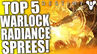 Destiny: Top 5 Warlock Radiance / Self Res Clips Of The Week / Episode 43