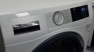 Bosch WDU28561GB 10Kg Washer Dryer Review and Demonstration
