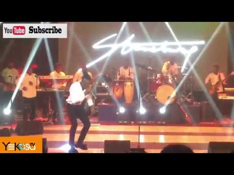 Live Band: Watch Stonebwoy perform real reggea music