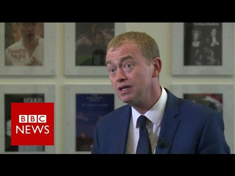 Tim Farron on Brexit, housing, student fees and cannabis - BBC News