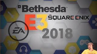 E3 2018 | EA, Bethesda a Square Enix konference | Pařanský livestream bez nudné omáčky | CZ 1440p