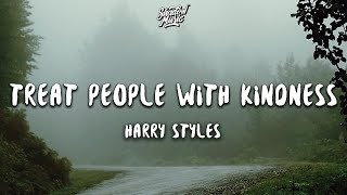 Cover images Harry Styles - Treat People with Kindness (Lyrics)