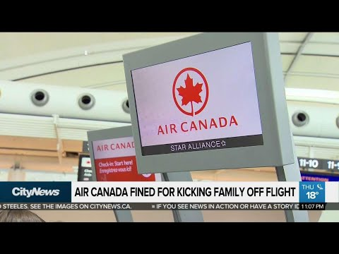 Oakville family awarded $70,000 for Air Canada passenger rights violation