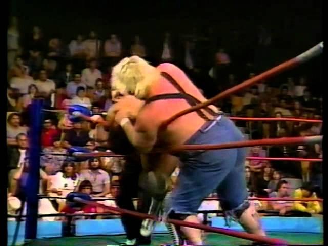 Combat Rick Martel & Dino Bravo Vs Seller Withe & Rick Valentine