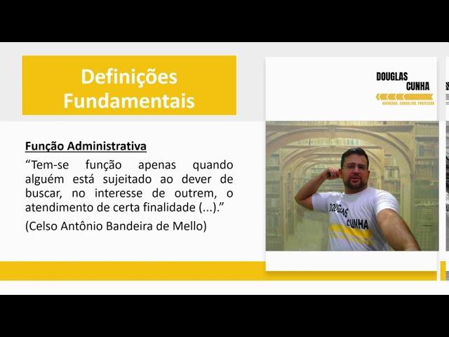 Direito Administrativo - Curso Completo Iniciantes - 01