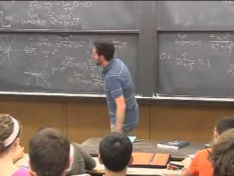 Lec 04 - Multivariable Calculus | Princeton University
