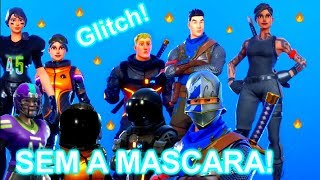 * GLITCH * HOW TO SEE THE FACE OF SKINS THAT HAVE MASKS AT FORTNITE!