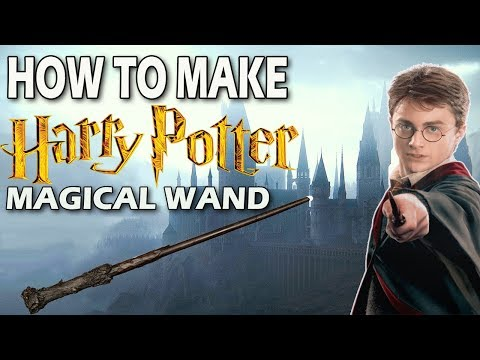 "How To Make ""Harry Potter"" Magical Wand 