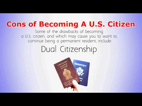 Should I Become A US Citizen Or Stay With Green Card?
