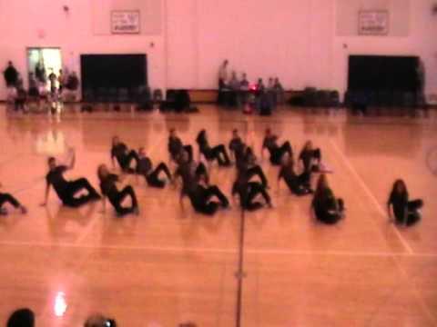 Wahoo Middle School Dance Team Hip Hop