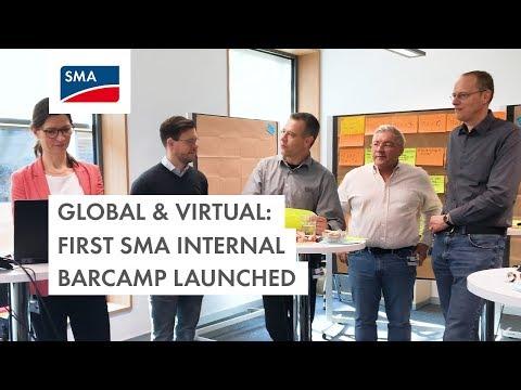 Global & Virtual: 1st SMA Internal Barcamp Launched