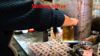 Melting and making sterling silver