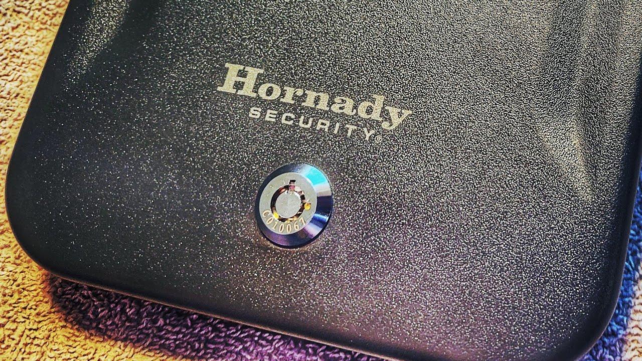 Hornaday Lockbox Pistol Safe unboxing