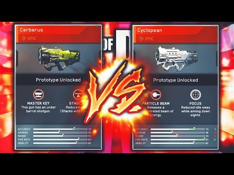 EPIC ERAD CERBERUS vs. ERAD CYCLOPEAN! Infinite Warfare BEST EPIC WEAPONS! (IW LASER GUNS)