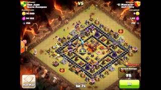 Clash of Clans With Beaker: 3 Stars Are Everywhere! Clan War Beatdown