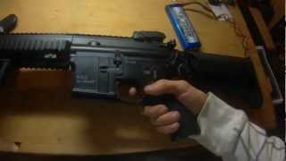 Classic Army HK416 Test by rainofplastic
