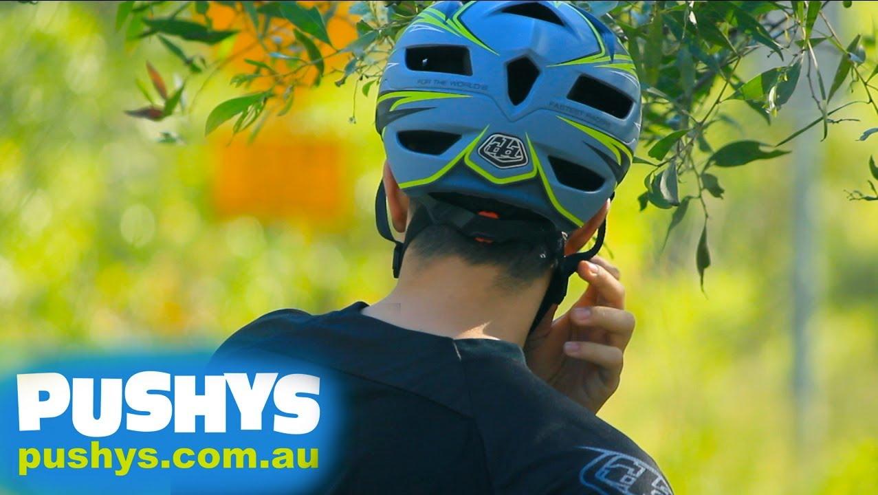 Pushys Review Troy Lee Designs A1 Helmets Youtube