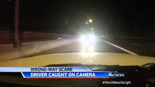 Wrong-Way Driver Collision in Arizona Caught on Dash-Cam (VIDEO)
