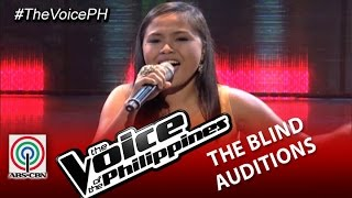 "The Voice of the Philippines Blind Audition ""Domino"" by Alisah Bonaobra (Season 2)"