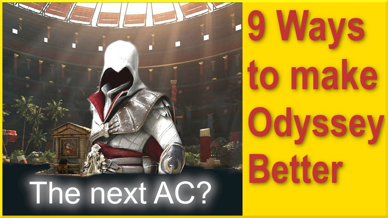 Assassins Creed Odyssey - How to make Odyssey even better - Multiplayer and Coop Arena & more ideas!