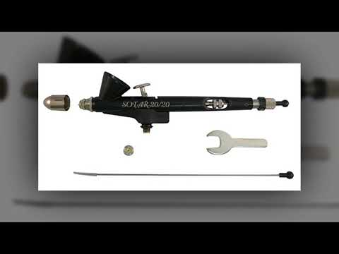 Badger Air-Brush Co Sotar 2020-2F Large Gravity Feed Airbrush with Fine Head