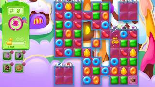 Candy crush jelly level  ●1298● COMPLETED! no booster