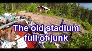 The old stadium Lappajärvi Ylipää in Finland