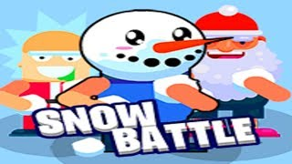 SNOW BATTLE - EPIC GAMEPLAY - NEW BATTLE ROYALE (HD)