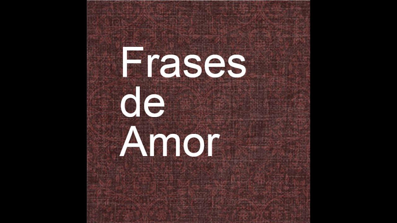 Frases Para Colocar Em Status Frases De Amor Youtube