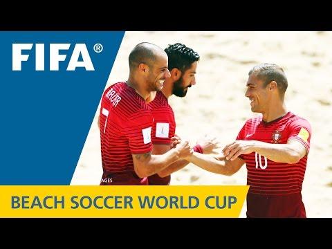 HIGHLIGHTS: Portugal v. Switzerland - FIFA Beach Soccer World Cup 2015