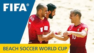 HIGHLIGHTS: Portugal v. Switzerland - FIFA Beach Soccer World Cup 2015