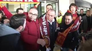 Galatasaray, Konya'da tezahüratlarla karşılandı I Fatih Terim, Emre Akbaba, Radamel Falcao