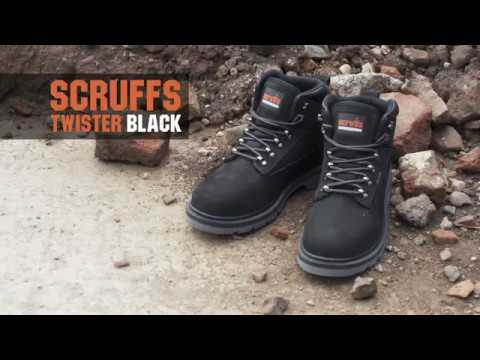 Scruffs Twister Black Safety Boots