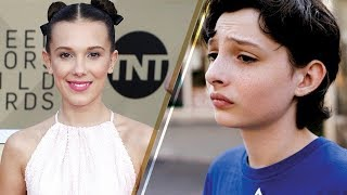 'Stranger Things' Cast SLAYS the 2018 SAG Awards Red Carpet WITHOUT Finn Wolfhard; Where Was He?!