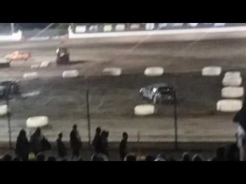 Sycamore Speedway: Final event of the night. Demolition Derby
