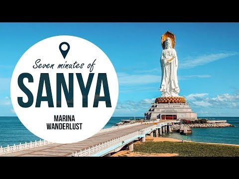 Sanya Hainan Travel Guide + Attractions Map